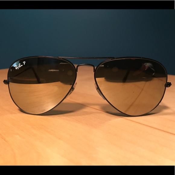 59a95eeee4e RayBan Aviator Classic RB3025 polarized sunglasses.  M 5b61e6e910fc5462efccfa40